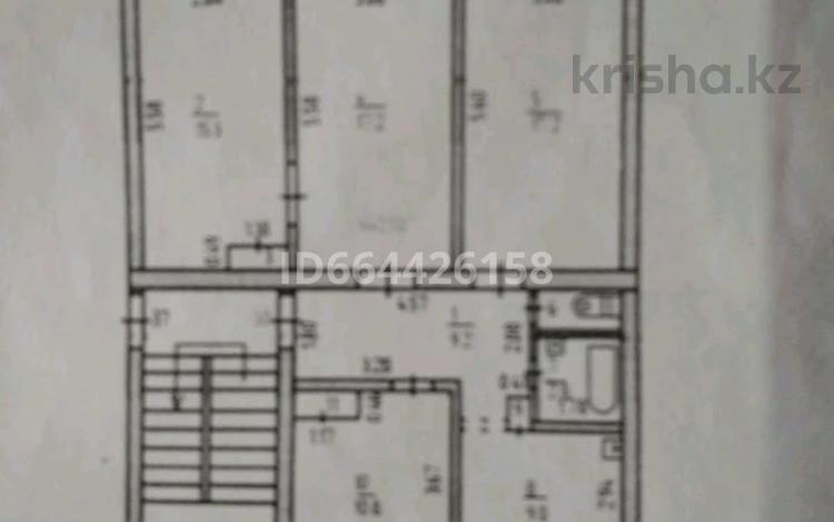 4-комнатная квартира, 87 м², 4/5 этаж, 7 мкр. за 13 млн 〒 в Лисаковске