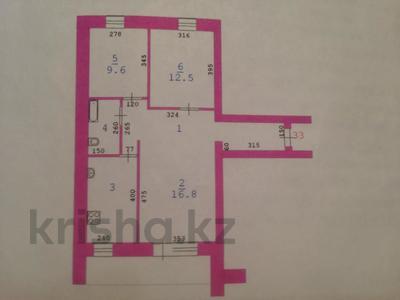 3-комнатная квартира, 64.9 м², 7/9 этаж, Алдиярова 2 за 18.5 млн 〒 в Актобе, Новый город — фото 12