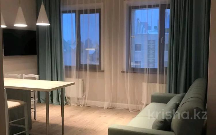 2-комнатная квартира, 56 м², 8/8 этаж, Кабанбай батыра 13 за 34 млн 〒 в Нур-Султане (Астана)