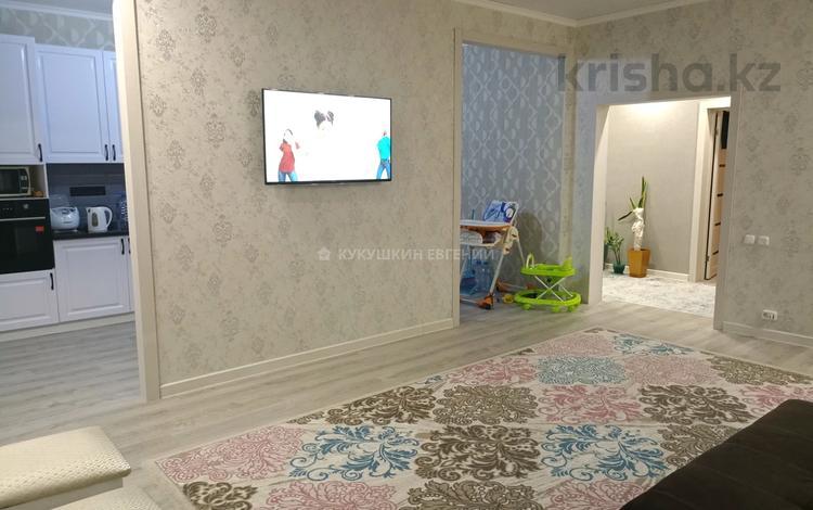 3-комнатная квартира, 97 м², 1/3 этаж, Голубые Пруды за 25.5 млн 〒 в Караганде, Октябрьский р-н