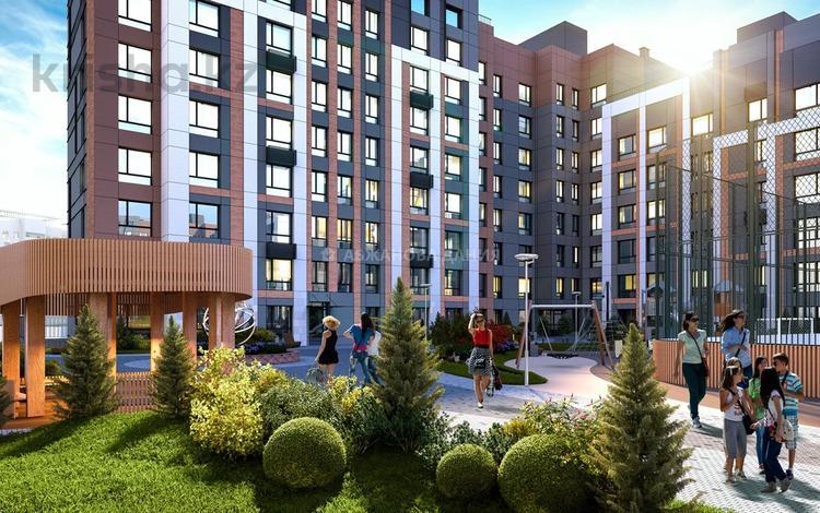 3-комнатная квартира, 100.73 м², 306 — ЕК-32 за ~ 38.4 млн 〒 в Нур-Султане (Астана), Есиль р-н