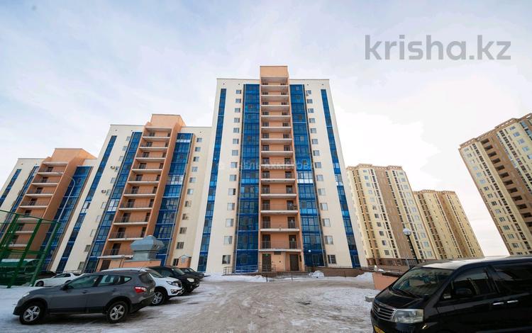 3-комнатная квартира, 76.6 м², 13/15 этаж, Коргалжынское шоссе 27/3 за 27.5 млн 〒 в Нур-Султане (Астана), Есиль р-н