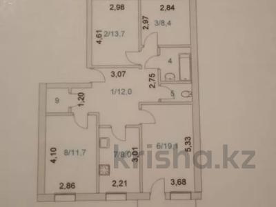 4-комнатная квартира, 78.9 м², 4/5 этаж, Саина 32 А — Валихаоново за 16.5 млн 〒 в Кокшетау