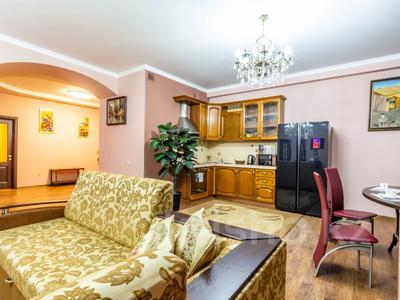 3-комнатная квартира, 170 м², 14/30 этаж посуточно, Аль-Фараби 7 за 40 000 〒 в Алматы, Медеуский р-н — фото 14
