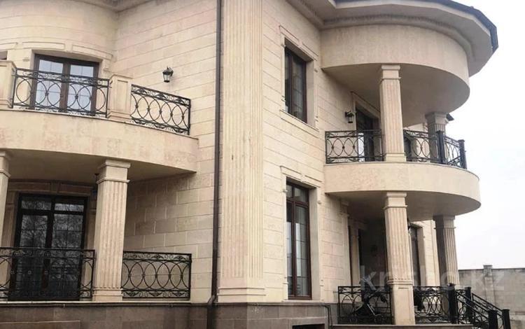 8-комнатный дом, 500 м², 12 сот., Жамакаева за 500 млн 〒 в Алматы, Медеуский р-н