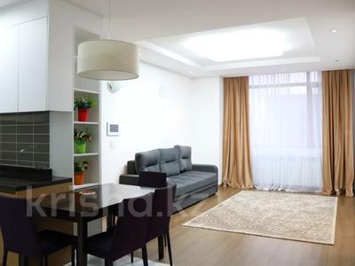 3-комнатная квартира, 100 м², 20/21 этаж посуточно, Кабанбай батыра 43а — Ханов Керея и Жанибека за 20 000 〒 в Нур-Султане (Астана), Есиль р-н