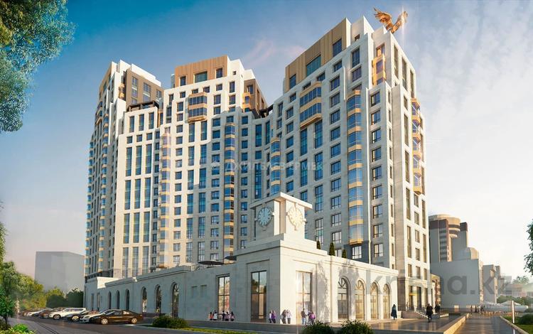 3-комнатная квартира, 137.9 м², 5/19 этаж, Макатаева 2 — Наркесен за ~ 68.3 млн 〒 в Нур-Султане (Астана), Есиль р-н