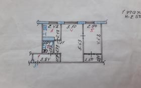 2-комнатная квартира, 45.9 м², 1/5 этаж, Абая 94 за 5.2 млн 〒 в Темиртау