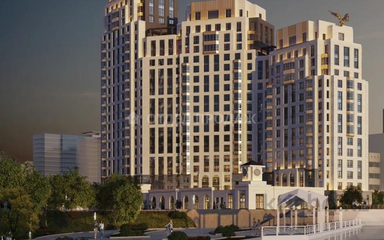 3-комнатная квартира, 126.97 м², Макатаева — Наркесен за ~ 61.6 млн 〒 в Нур-Султане (Астана), Есиль р-н