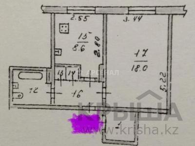 1-комнатная квартира, 40 м², 2/9 этаж, мкр Сайран, Абая — Утеген Батыра за 16 млн 〒 в Алматы, Ауэзовский р-н — фото 8