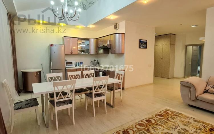4-комнатная квартира, 200 м², 26/30 этаж посуточно, Аль-Фараби 7 — Козыбаева за 50 000 〒 в Алматы, Бостандыкский р-н