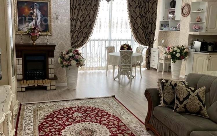 3-комнатная квартира, 84 м², 12/18 этаж, Брусиловского 163 — Шакарима за 33 млн 〒 в Алматы, Алмалинский р-н
