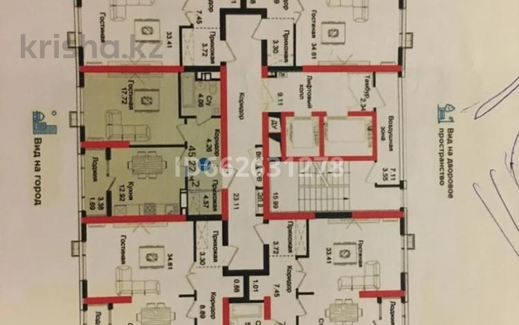 1-комнатная квартира, 45.22 м², 8/17 этаж, Егизбаева 7 за 20.5 млн 〒 в Алматы