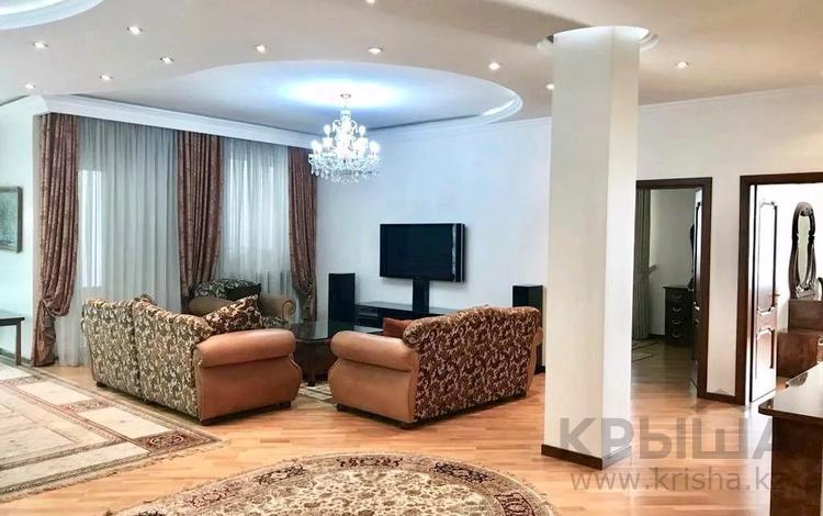 4-комнатная квартира, 220 м², 8/20 этаж, Достык 160 — Жолдасбекова за 98 млн 〒 в Алматы, Медеуский р-н