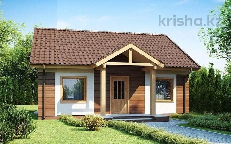3-комнатный дом, 77.7 м², Туздыбастау за 6 млн 〒 в Туздыбастау (Калинино)