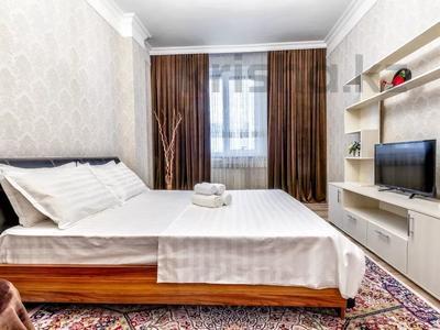 1-комнатная квартира, 45 м², 9/10 этаж посуточно, ул Е-49 1 — Достык за 10 000 〒 в Нур-Султане (Астана)