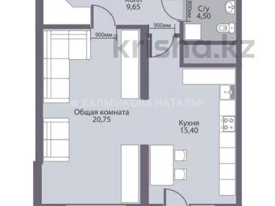 1-комнатная квартира, 52 м², 4/12 этаж, Навои 314 за 27 млн 〒 в Алматы, Бостандыкский р-н — фото 3