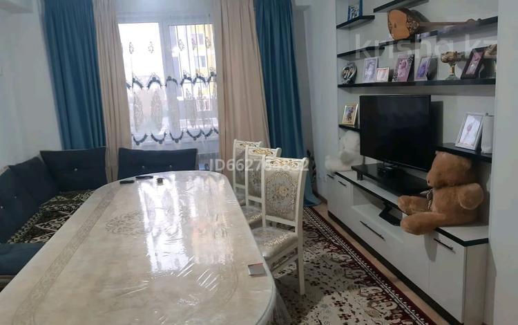 2-комнатная квартира, 60 м², 2/9 этаж помесячно, мкр Нурсат 2 за 120 000 〒 в Шымкенте, Каратауский р-н