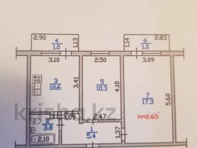2-комнатная квартира, 49.4 м², 5/5 этаж, мкр Аксай-3А, Яссауи — Толе Би (Комсомольская) за 16 млн 〒 в Алматы, Ауэзовский р-н — фото 4