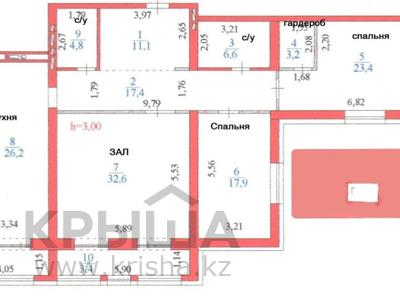3-комнатная квартира, 148 м², 3/6 этаж, Умай Ана 2 за 55.3 млн 〒 в Нур-Султане (Астана), Есиль р-н