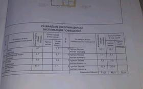 4-комнатный дом, 100 м², улица Жанатай улы 20 — Байсылыкова за 9 млн 〒 в Семее