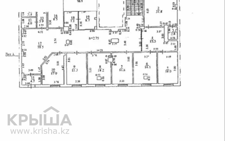 Помещение площадью 566.5 м², Сыганак 21/1, в.п.4 за 200 млн 〒 в Нур-Султане (Астана), Есиль р-н