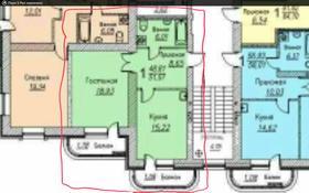 1-комнатная квартира, 52 м², 8/9 этаж, Темирбека Жургенова 18/1 — Нажимеденова за 18.8 млн 〒 в Нур-Султане (Астана), Алматы р-н