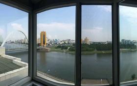 3-комнатная квартира, 140 м², 8 этаж посуточно, Кабанбай батыра 2/7 за 22 000 〒 в Нур-Султане (Астана), Есиль р-н