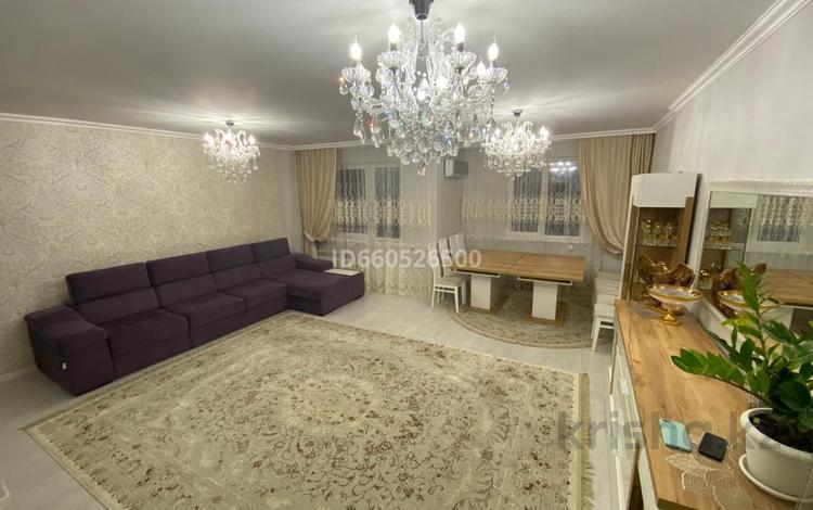 4-комнатная квартира, 145 м², 8/12 этаж, Абикен Бектурова 3/3 за 80 млн 〒 в Нур-Султане (Астана), Есиль р-н