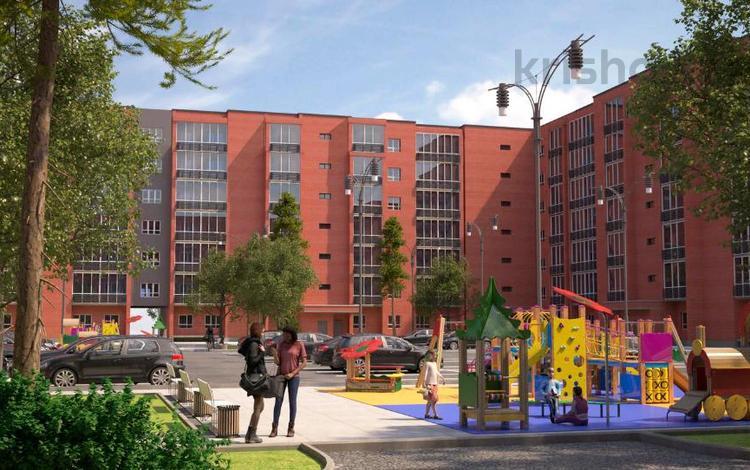 2-комнатная квартира, 58.1 м², мкр Батыс 2 49Д за ~ 8.6 млн 〒 в Актобе, мкр. Батыс-2