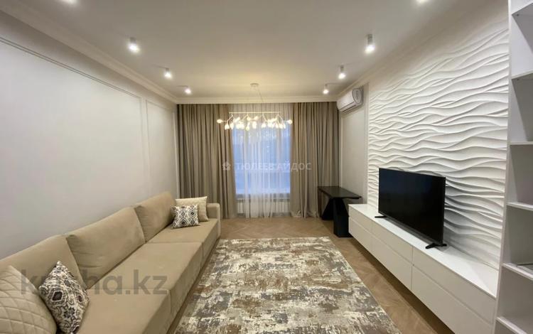 3-комнатная квартира, 100 м², 9/12 этаж помесячно, Розыбакиева 178 за 650 000 〒 в Алматы, Бостандыкский р-н