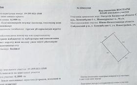 Участок 10 соток, Новостройка 96 за 2.7 млн 〒 в Касымбек датка