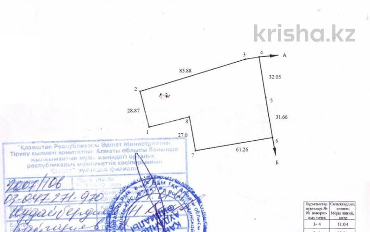 Участок 48 соток, Алматинская обл. за 80 млн 〒