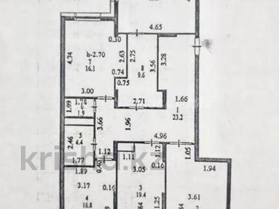 4-комнатная квартира, 137 м², 4/14 этаж, Кабанбай батыра 46 за 55 млн 〒 в Нур-Султане (Астана) — фото 3