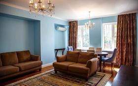 3-комнатная квартира, 118 м², 2/20 этаж помесячно, Ходжанова — проспект Аль-Фараби за 380 000 〒 в Алматы, Бостандыкский р-н