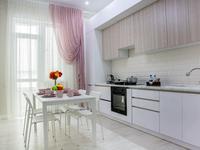 1-комнатная квартира, 50 м², 2/12 этаж посуточно, Тайманова 48 за 17 000 〒 в Атырау