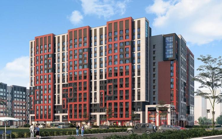1-комнатная квартира, 42.61 м², Кенесары — Кумисбекова за ~ 13.1 млн 〒 в Нур-Султане (Астана)