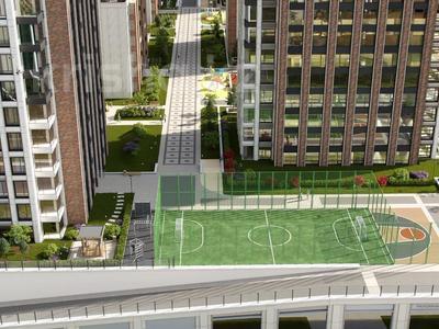 3-комнатная квартира, 89.08 м², Акмешит 9 за ~ 51 млн 〒 в Нур-Султане (Астане)