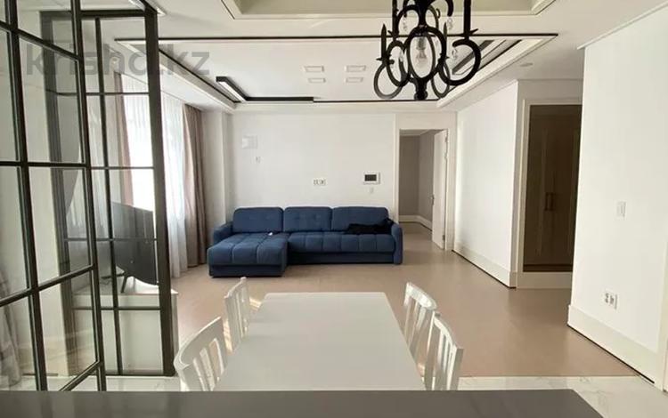 2-комнатная квартира, 75 м², 15/25 этаж помесячно, Нажимиденова 4 за 250 000 〒 в Нур-Султане (Астана)