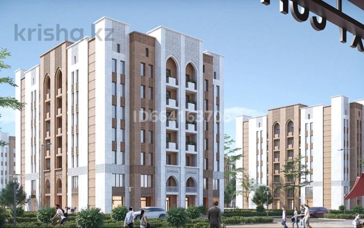 1-комнатная квартира, 46.7 м², 4/7 этаж, Жана кала, улица 9 19 за 12 млн 〒 в Туркестане