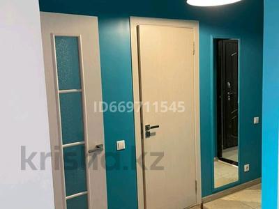 1-комнатная квартира, 50 м², 9 этаж по часам, Кабанбай Батыра 223/161 — Байзакова за 2 000 〒 в Алматы