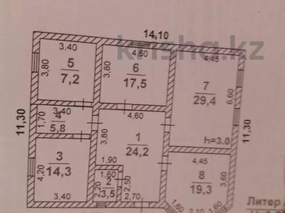 4-комнатный дом, 164 м², 8 сот., Самал 3 за 18.5 млн 〒 в Шымкенте, Абайский р-н — фото 12