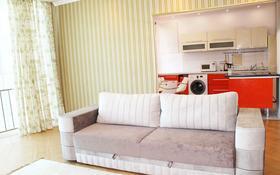 1-комнатная квартира, 42 м², 12/20 этаж посуточно, Достык — Жолдасбекова за 12 000 〒 в Алматы, Медеуский р-н