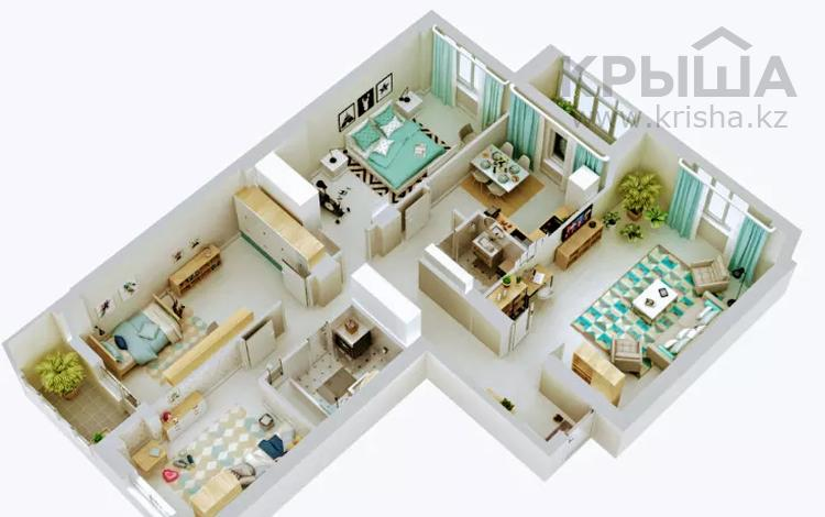 4-комнатная квартира, 120 м², 8/13 этаж, Макатаева 131 — Муратбаева за 43.4 млн 〒 в Алматы, Алмалинский р-н