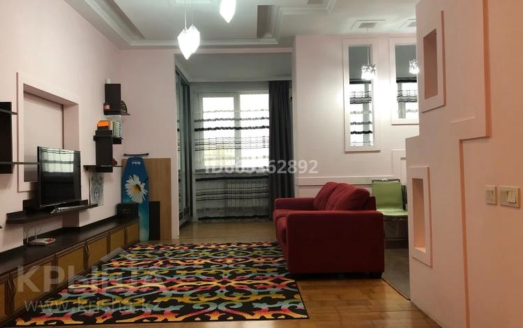 1-комнатная квартира, 53 м², 13/20 этаж, мкр Самал 52 за 37 млн 〒 в Алматы, Медеуский р-н