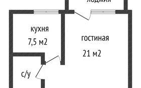 1-комнатная квартира, 34 м², 6/6 этаж, Садовая 71 за 6.9 млн 〒 в Костанае