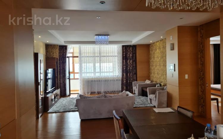 3-комнатная квартира, 147 м², 14 этаж, Ахмета Байтурсынова 5 за 80 млн 〒 в Нур-Султане (Астана), Алматы р-н