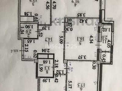 4-комнатная квартира, 108 м², 2/8 этаж помесячно, Кабанбай батыра 60/7 за 500 000 〒 в Нур-Султане (Астана), Есиль р-н — фото 5
