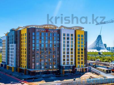 1-комнатная квартира, 41 м², 7/12 этаж, Каиыма Мухамедханова 4а за 15.2 млн 〒 в Нур-Султане (Астана), Есиль р-н