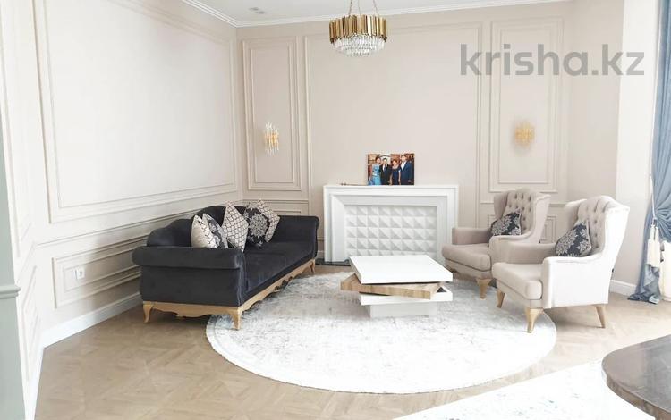 3-комнатная квартира, 127 м², 1/7 этаж, Шамши Калдаякова за 78 млн 〒 в Нур-Султане (Астана), Алматы р-н